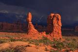 Balanced Rock Storm print