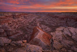 Red Banded Canyon print