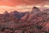East Temple Sunset print