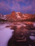 Alpen Glow Morning print
