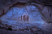 great gallery, Canyonlands, great galley petroglyph, the great gallery