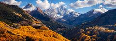 Capitol Peak & Blue Skies Panoramic
