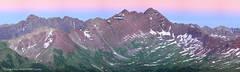 Pierre Lakes area,Maroon Bells & Pyramid Peak