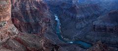 Canyon Glow Pano