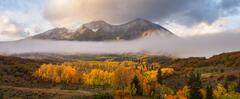 Mount Sopris Autumn Sunrise