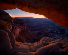 mesa arch, canyonlands, arches