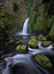 Oregon waterfall photos, columbia river gorge waterfall photos, waterfall photography, Wahclella falls, wahclella falls