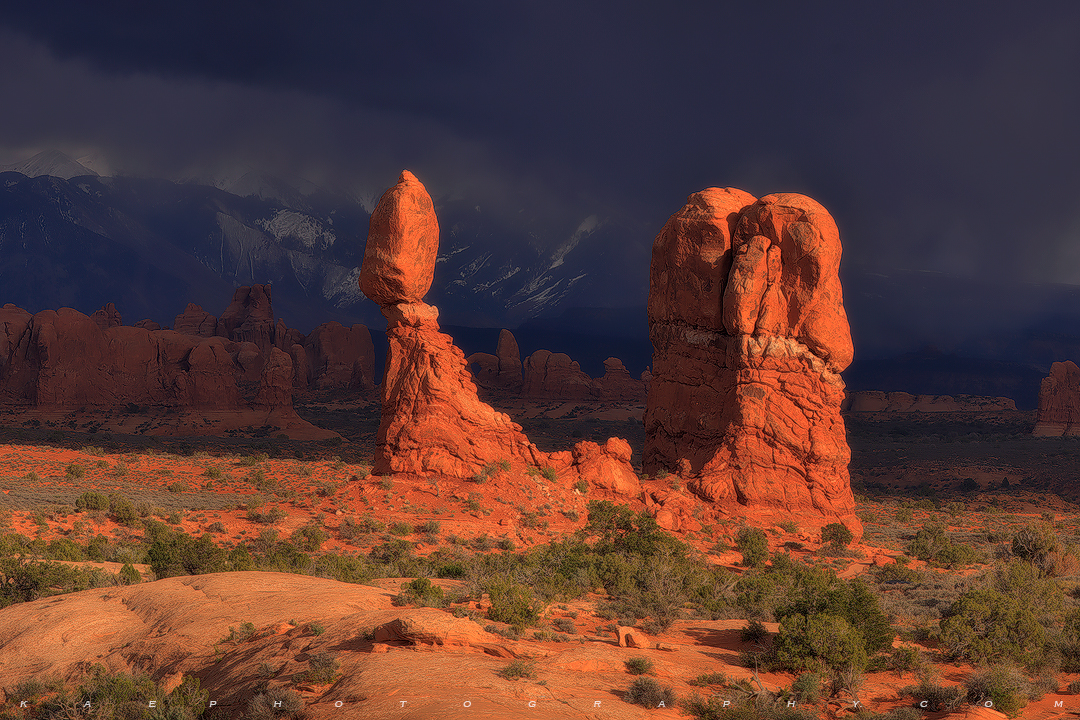 Balanced Rock, Arches National Park, Arches, , photo
