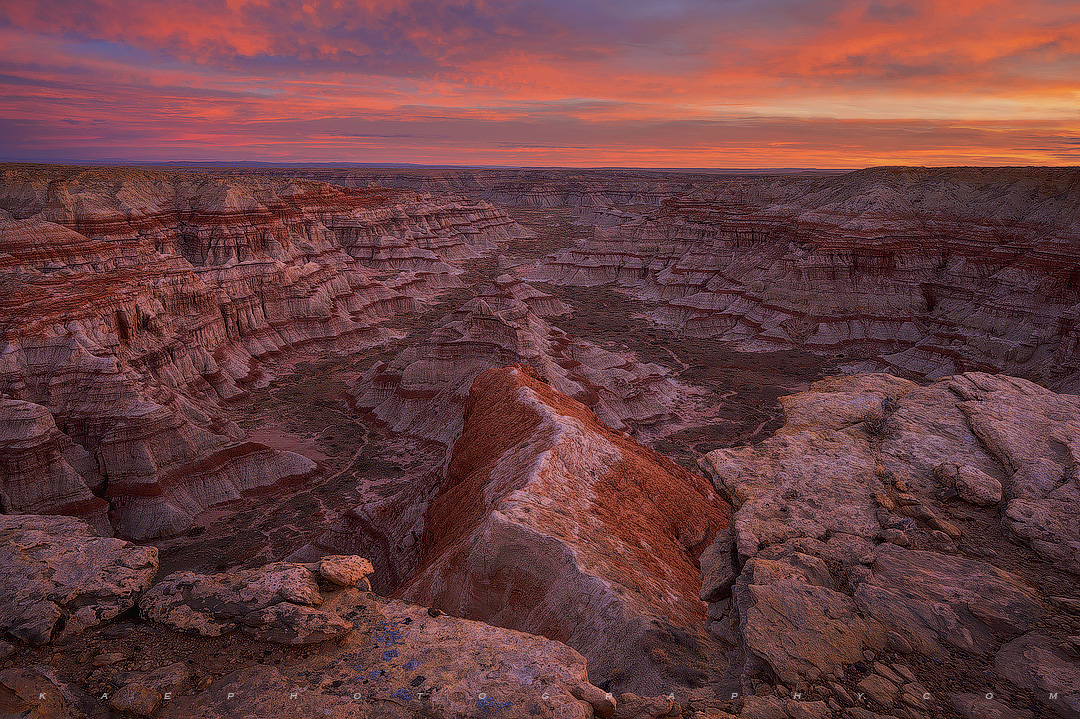 Red Banded Canyon