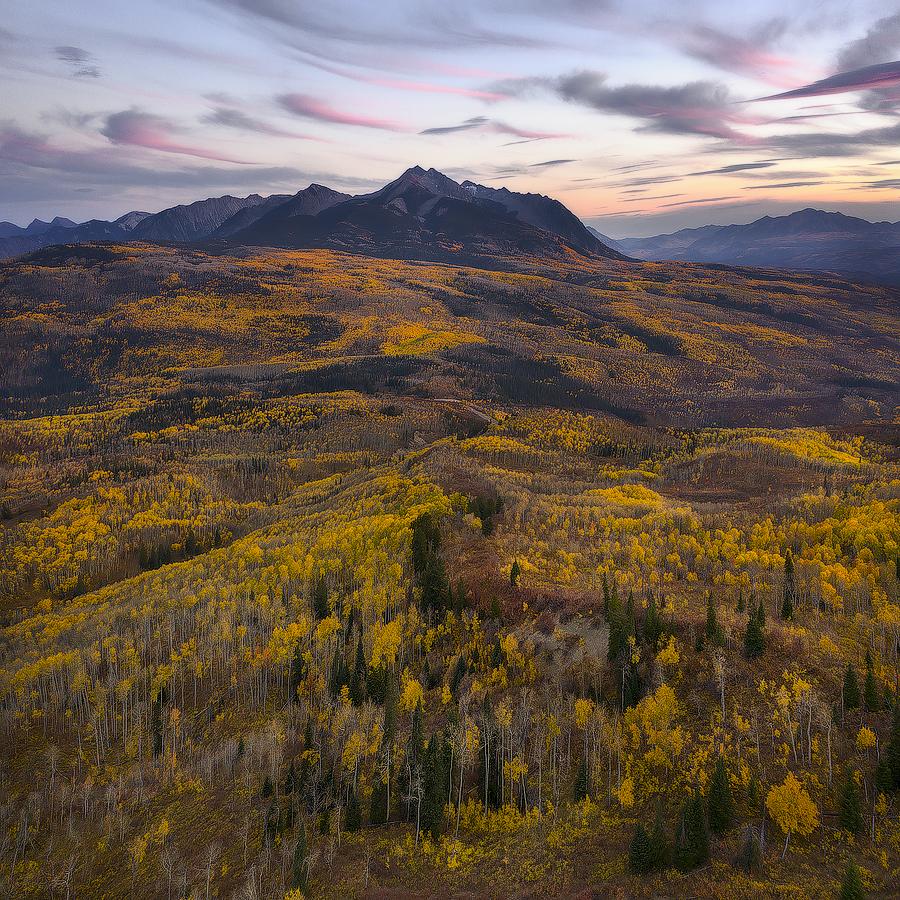 Chair Mountain Sunset