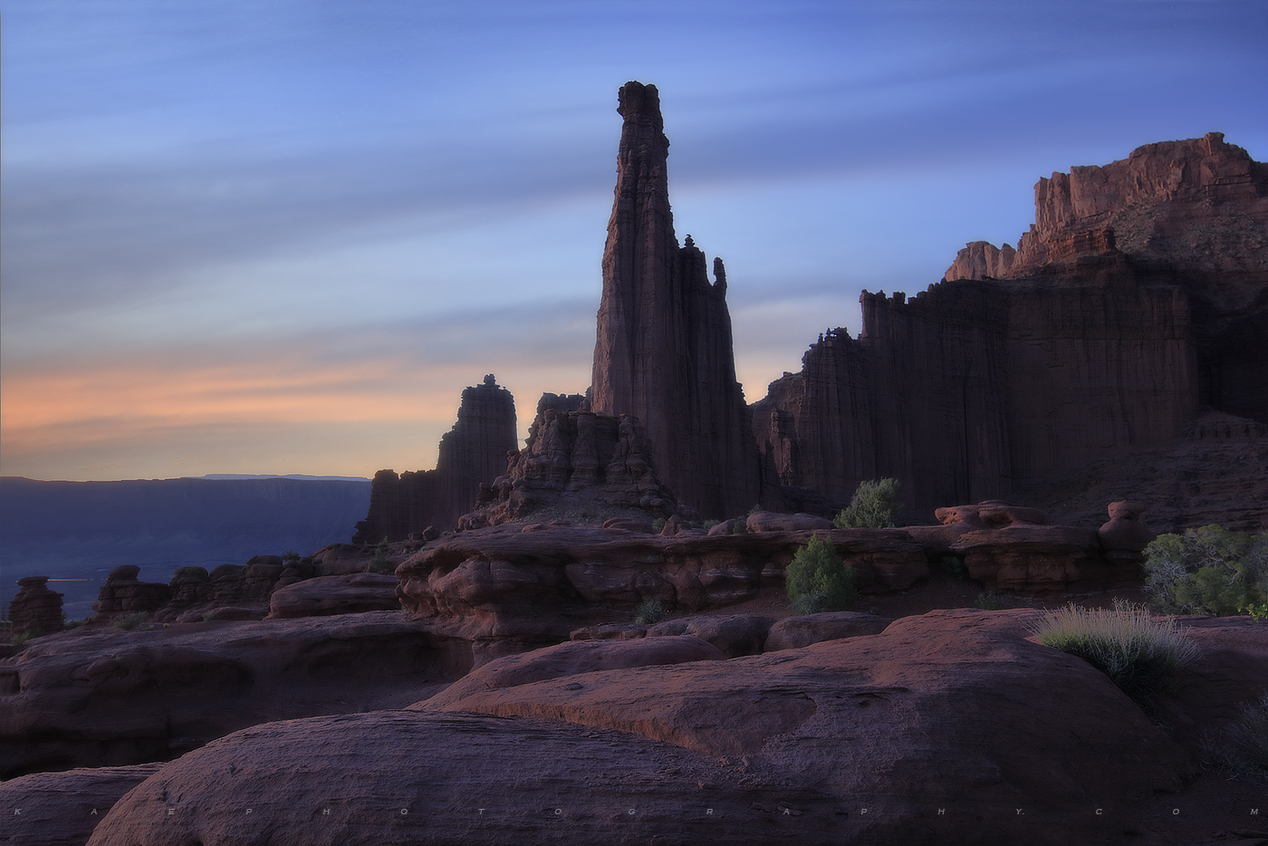 titan, fisher towers, utah, photo