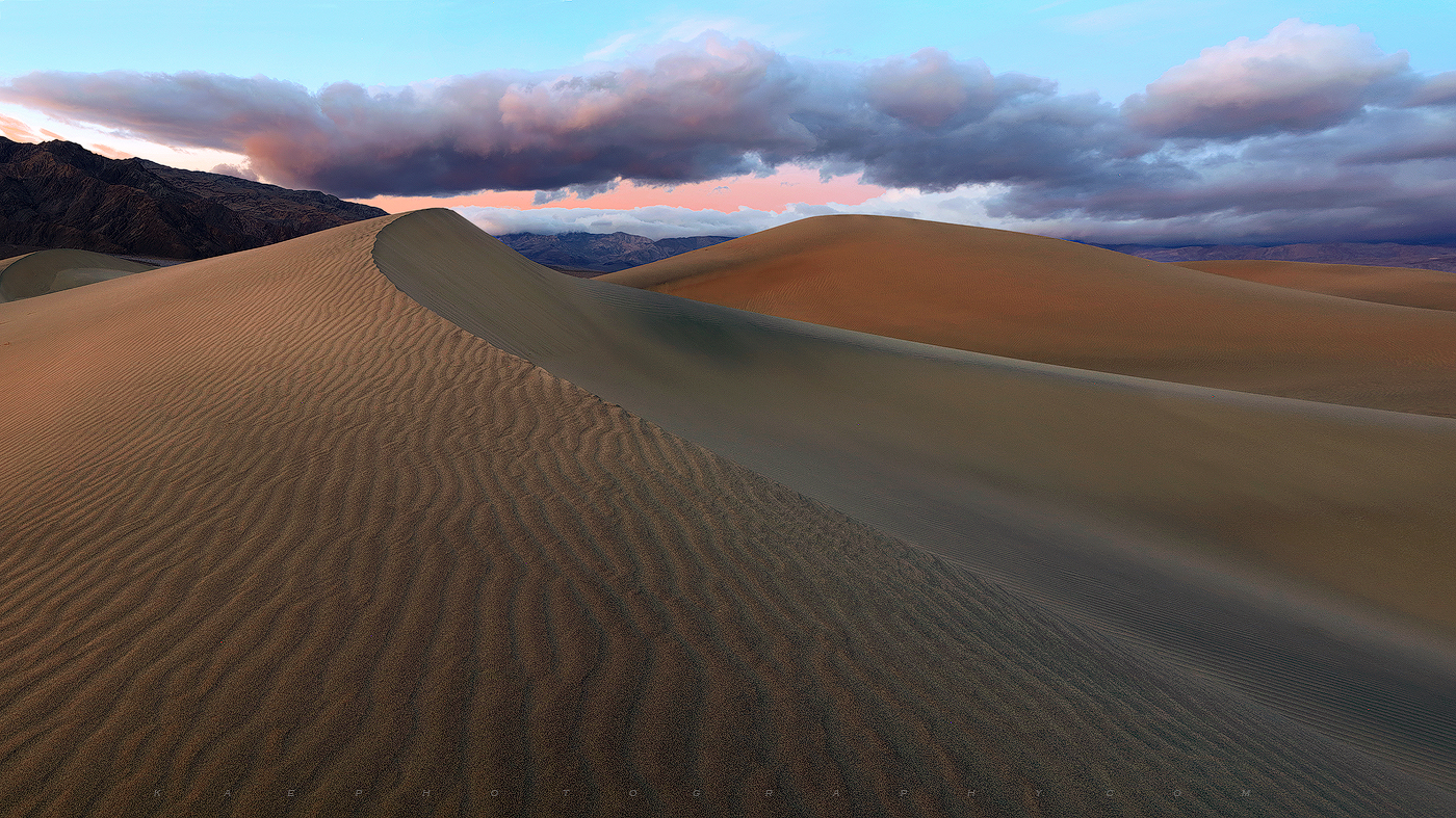 Death Valley, Dune, panoramic