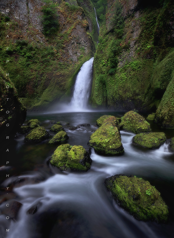 Oregon waterfall photos, columbia river gorge waterfall photos, waterfall photography, Wahclella falls, wahclella falls , photo